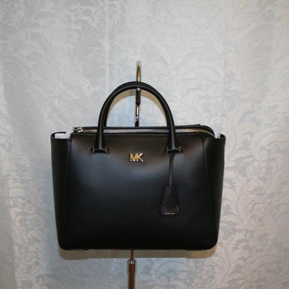 31a841ebe65558 Michael Kors Bags   Nolita Medium Satchel Black Leather   Poshmark